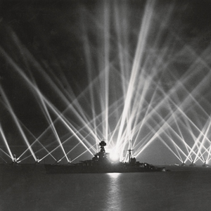 Royal navy search lights
