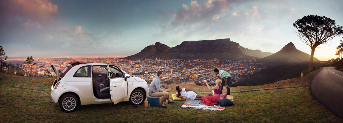 South Africa tourism main advertising image