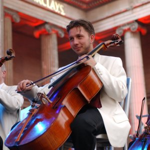 Barclays I&I cellist